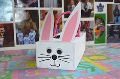 Your house probably goes through a lot of tissue boxes, so why not turn them into festive Easter crafts for kids? Tissue Box Bunnies are an adorable animal craft for kids that are very easy to make. Kleenex Box Crafts, Tissue Box Crafts, Tissue Boxes, Tissue Paper, Easter Art, Easter Crafts For Kids, Easter Bunny, Kid Crafts, Family Crafts