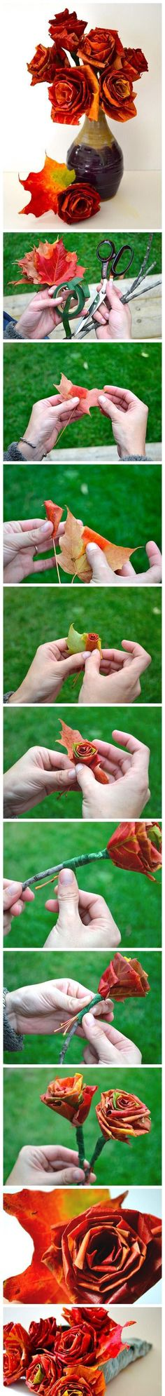 DIY Autumn Leaves Decoration Pictures, Photos, and Images for Facebook, Tumblr, Pinterest, and Twitter