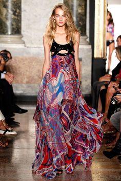 Emilio Pucci SS 2015 Fashion show details