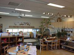 Reggio Inspired Havergal classroom - natural, organized, beautiful