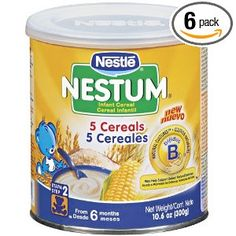 Nestum Baby Cereal by Nestle-the best baby cereal in the market!
