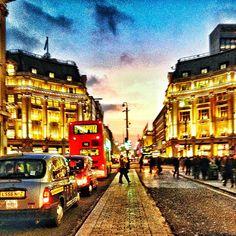 Oxford Street. Take me to London.