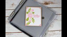 LOT Tonic Studios Tim Holtz Stamp Platform  Stamping DIE  Heartfelt Sympathy