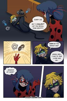 """Miraculous: Tales of Ladybug and Cat Noir """"Masquerader"""" - By emzurl Page 16 > Page 18"""