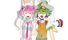 Ray, Zarc, Yuya and Yuzu