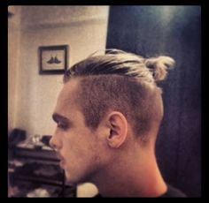 1000 images about Hair Modern Chonmage on Pinterest