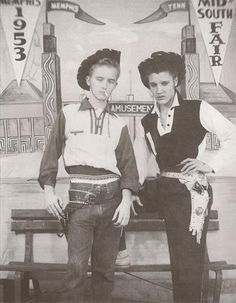 Elvis at the Mid-South Fair, Memphis late 1953
