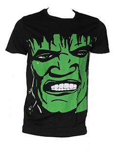 Original T-shirts Hulk Talla XL Camiseta Negra de Hombre de algodón Original T-shirts Hulk, Manga, Mens Tees, Sleeves, Cotton, T Shirt, Fashion, Black T Shirt, Cotton T Shirts
