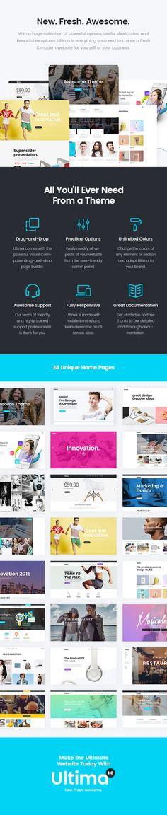 Ultima - A Multi-Purpose WordPress Theme #web design #creative #agency • Download theme ➝ https://themeforest.net/item/ultima-a-multipurpose-wordpress-theme/18679752?ref=pxcr