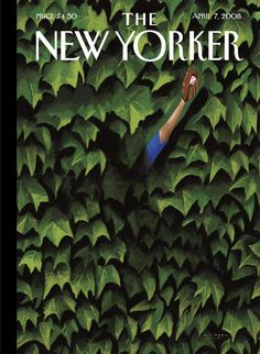 """The New Yorker - Monday, April 7, 2008 - Issue # 4257 - Vol. 84 - N° 8 - Cover """"Lost and Found"""" by Mark Ulriksen"""