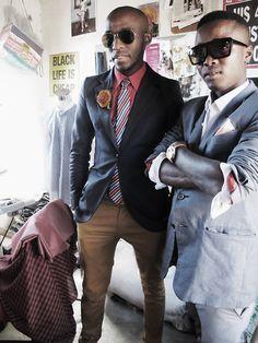 Thabo & Retro, Smarteez Atelier, SA Man Summer, Summer Chic, African Men Fashion, Mens Fashion, Suit Jacket, Blazer, Sexy, Jackets, Women