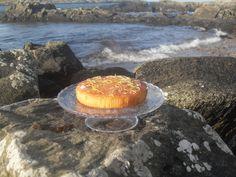 Sticky Lemon Cake...on the beach!