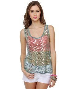 love the top, not such a big fan of the pink bra with this though... :P but with a cami... :)
