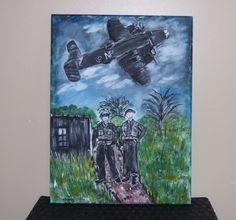 Acrylic on Canvas     WWII