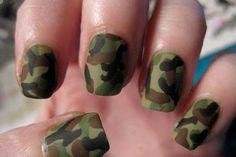 Cool Nail Design Ideas: Military Cool Nail Styles Designs ~ Nail Ideas Inspiration
