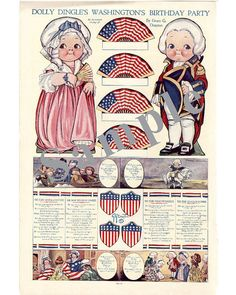 Paper Doll_Vintage DOLLY DINGLE Paper by TateMuseumOnline on Etsy, $2.95