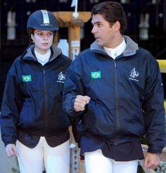 Doda Miranda, el marido de Athina Onassis, se prepara para los Juegos Olímpicos de Pekín 2008