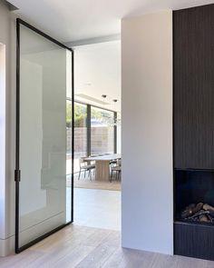 Louise Holt Design (@louiseholtdesign) • Instagram photos and videos Modern Interior, Interior Architecture, Interior Design, Steel Doors And Windows, Clean Lines, New Homes, Indoor, Outdoor Decor, Inspiration