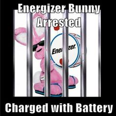 Don't worry energizer bunny, we will post your #bail, we don't split hares