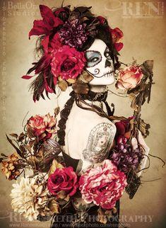 Sugar Skull ~ Photography by Renee Keith
