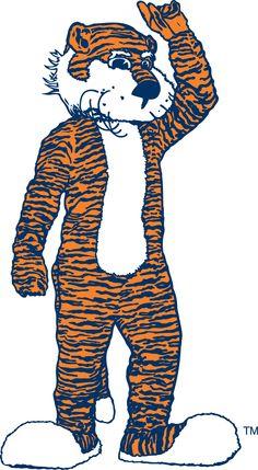 Aubie, the Auburn Tigers mascot.