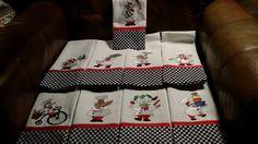 Bon Appetit Chefs Filled Set 2 embroidery design set available for instant download at designsbyjuju.com