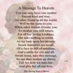 a message to  Heaven
