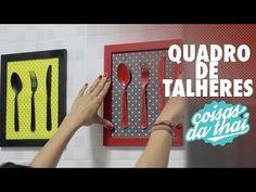 DIY - Quadro de Talheres para Cozinha gastando pouco - YouTube