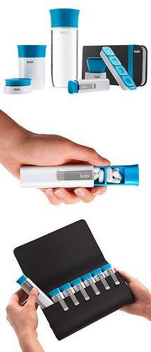 Sabi // modern pill dispenser designed by Yves Behar of Fuseproject #product_design #industrial_design