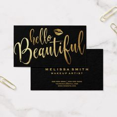 73 Best Makeup Artist Business Cards Images In 2019 Business Card