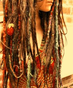 i wanna do this to my hair one day