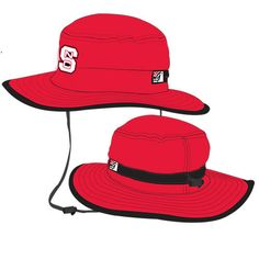 NC State Wolfpack The Game Red Boonie Hat 96aa2e154777