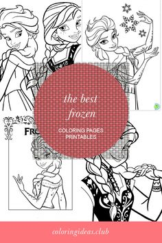 Collection of articles about The Best Frozen Coloring Pages Printables. Get this Latest and Save this article now! Frozen Coloring Pages, Preschool Coloring Pages, Free Printable Coloring Pages, Free Coloring, Coloring Pages For Kids, Coloring Sheets, Coloring Books, Disney Princess Movies, Printable Pictures