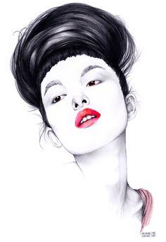 Tao | Model by Hélène Cayre