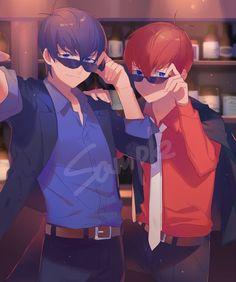 嵌入的影像 Ichimatsu, Bishounen, Hetalia, Anime Guys, How To Look Better, Character Design, Kawaii, Fan Art, Pixiv