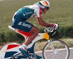 Big Mig. Big Mig's Pinarello - they don't make them like that any more
