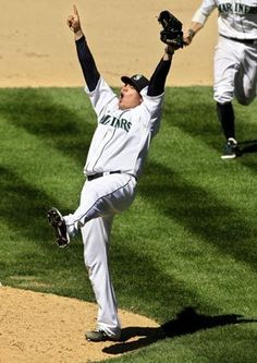 Felix Hernandez. Pitcher of a perfect game. Aug. 15, 2012. #GoMariners