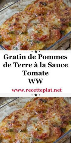 Ww Recipes, Healthy Recipes, Weigth Watchers, Plats Weight Watchers, Cooking Light, Menu, Love Food, Food And Drink, Sauce Tomate