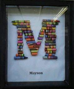 Crayon Craft Perfect for Kenz name