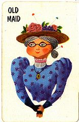 Old old maid...  loved old maid...