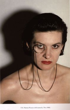 Paloma Picasso by Helmut NEWTON -1983