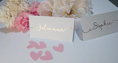 Foil wedding place cards gold silver rose gold Name card Card Table Wedding, Wedding Place Cards, Diy Wedding, Wedding Ideas, Pantone 2016, Or Rose, Rose Gold, Wedding Breakfast, Tent Cards
