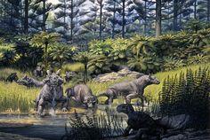 Ilústranos... John Sibbick   Dinosaurios (El Cuaderno de Godzillin)
