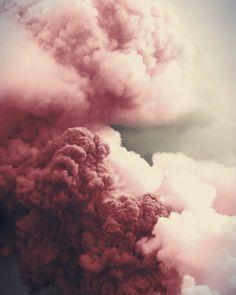 Marsala, Pantone color for 2015 - Clouds Marsala, Pale Dogwood, Blog Art, Pink Smoke, Colored Smoke, Black Smoke, Pink Clouds, Black Clouds, Everything Pink