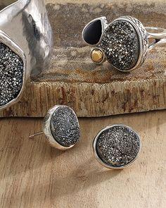 Crystal Cave Earrings | Jewelry by Silpada Designs. Order today at www.mysilpada.com/allison.ochoa