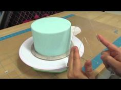 ▶ How To Create Quilt Pattern On A Cake the Krazy Kool Cakes Way! - YouTube