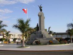 Miguel Grau monument, Piura, Peru