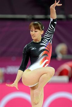 Women's sports gymnastics.
