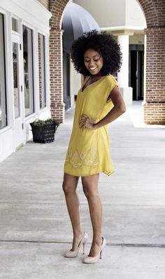Karlie Mustard Dress | BleuBelle Boutique - Savannah Designer Clothing