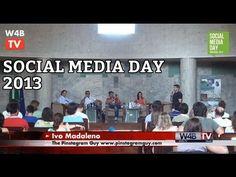 Social Media Day 2013 na TV - Integrar o mundo online e offline com imagens #pinterest e #instagram. CLIQUE para ver o Video